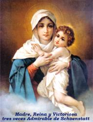 Virgen de Schoenstatt, Madre tres veces Admirable